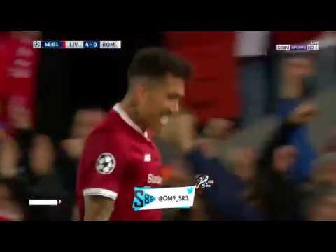 هدف ليفربول الخامس في روما