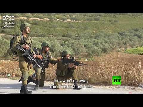 جنود إسرائيليون يتباهون بإطلاق الرصاص على فلسطينيين