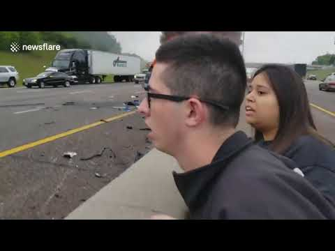 سائق مخمور يقتل سيدة على الطريق