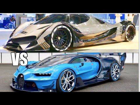 بالفيديو تعرف على أقوى سياراتين