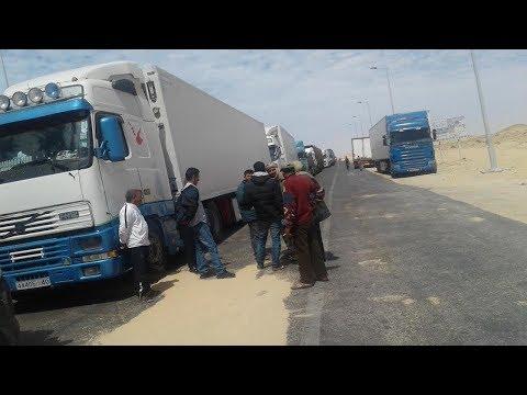 شاهد الجمارك تحبط محاولة استيراد شاحنة بضائع محظورة