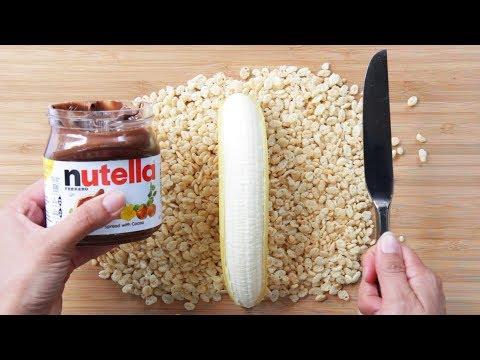 5 طرق مختلفة لأكل شيكولاتة النوتيلا