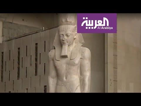 عربة توت عنخ آمون إلى المتحف المصري الكبير