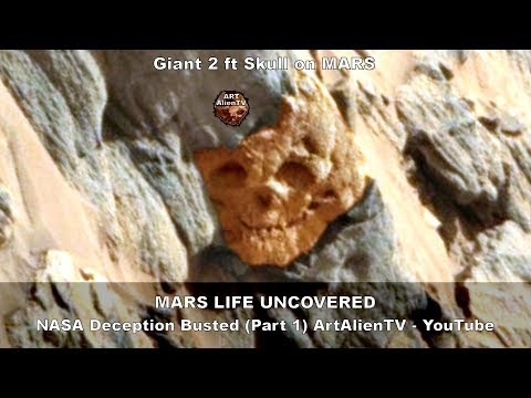 بالفيديو جو وايت يعثر على صخرة غريبة المظهر على المريخ