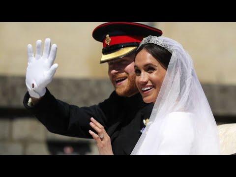 شاهدزفاف ملكي للأمير هاري وميغن ماركل
