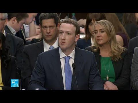مدير فيسبوك مارك زاكربرغ أمام البرلمان الأوروبي