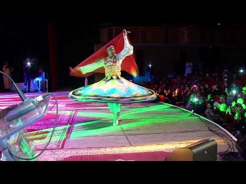 شاهد عرض كوريغرافي يقدّم رقصة التنورة الصوفية في وجدة