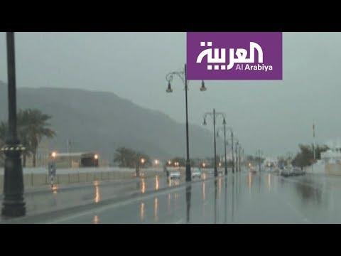 شاهد إعصار مكونو الذي ضرب سقطرى يعصف بصلالة