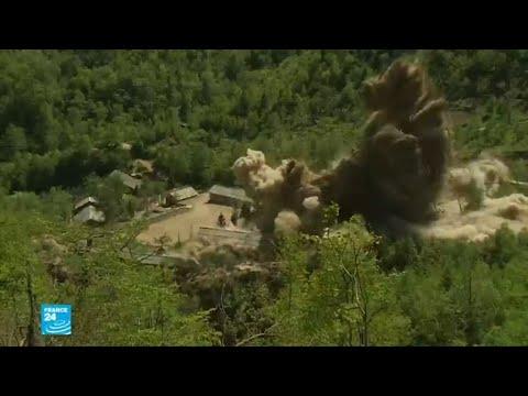 شاهد كوريا الشمالية تفكّك مواقع تجاربها النووية