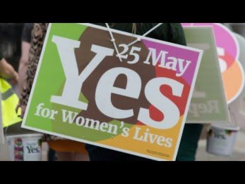 شاهد الإيرلنديون على موعد مع استفتاء تاريخي بشأن الإجهاض