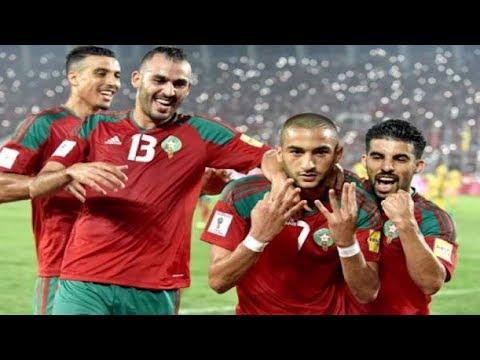 شاهد مفاجأة الملك محمد السادس للمنتخب المغربي قبل التوجه إلى روسيا