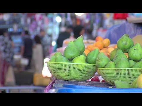 شاهد سوق الأحد في أغادير ملجأ لبعض مترقّبي موعد الإفطار