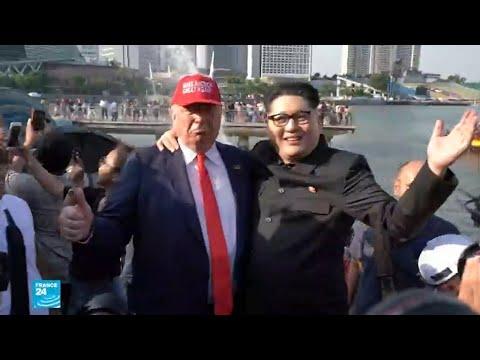 شاهدشبه كبير بين هذين الشخصين والزعيمين الأميركي والكوري الشمالي
