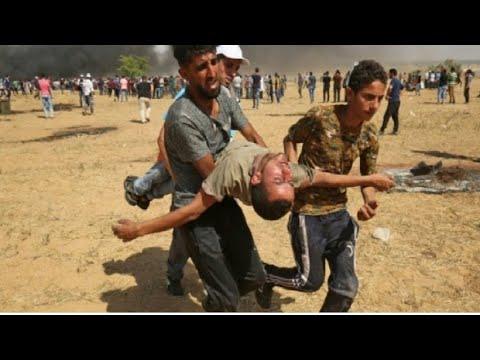 شاهد قتلى ومئات الجرحى برصاص جيش الاحتلال في مسيرات العودة