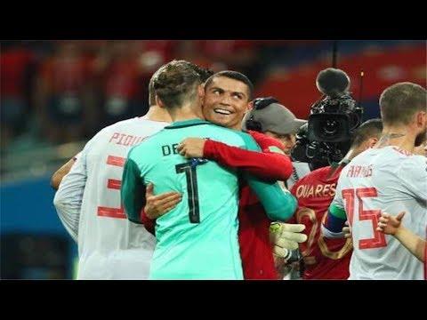 رونالدو يوجه رسالة عاجلة للمغرب بعد ثلاثيته أمام إسبانيا
