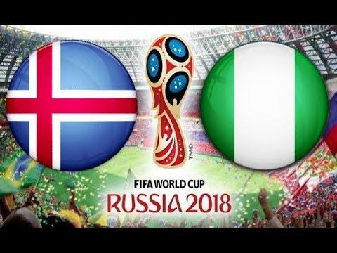 شاهد  بث مباشر للقاء منتخب نيجيريا أمام نظيره الأيسلندي