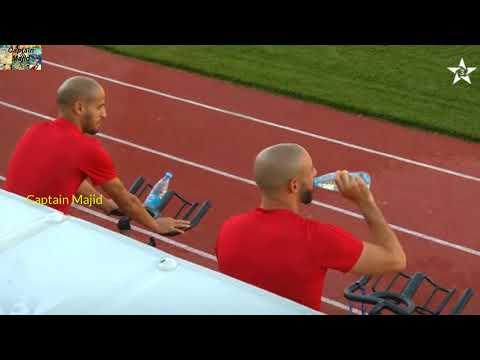 شاهد  الحصة التدريبية للمنتخب المغربي استعدادًا لمواجهة أسبانيا