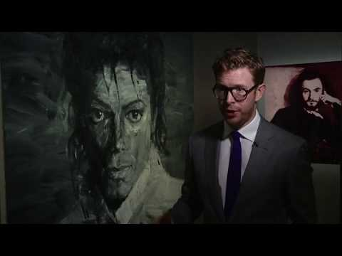 معرض في لندن لملك البوب مايكل جاكسون