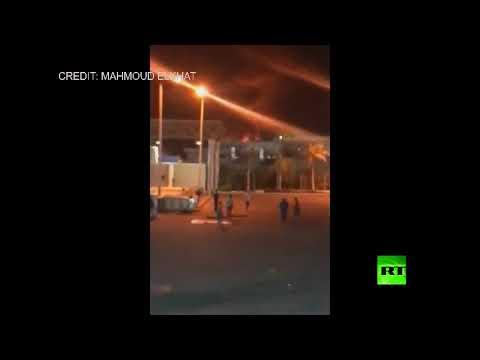 شاهدانفجار ضخم قرب مطار القاهرة