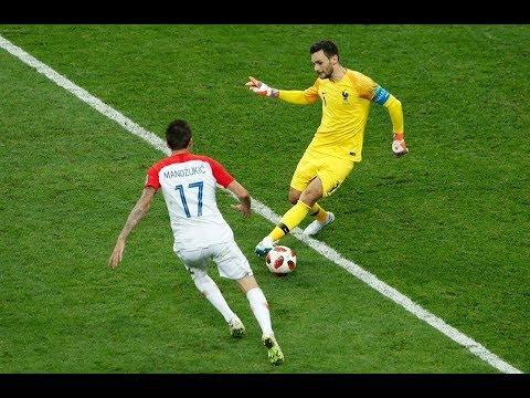 شاهد  الهدف الثاني لمنتخب كرواتيا أمام فرنسا