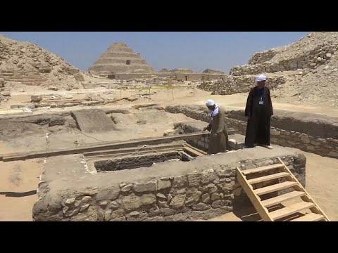 اكتشاف آثار في مصر توضح أسرار التحنيط
