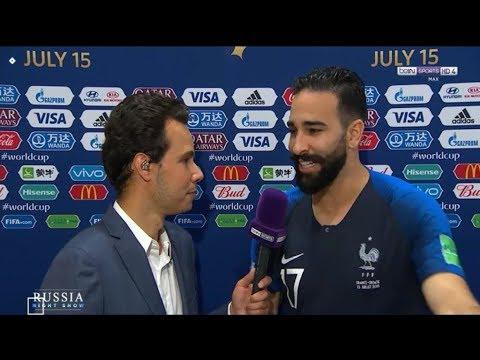 عادل رامي يصرّح اليوم أنا بطل العالم مع فرنسا ولكن أفتخر بأنني مغربي