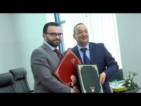 شاهد توقيع اتفاقية توأمة بين القدس عاصمة دائمة للثقافة العربية ووجدة