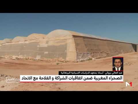 شاهد بروكي يُوضّح أهمية دمج الصحراء المغربية في الاتفاق الفلاحي مع المملكة