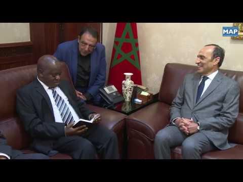 شاهد رئيس الجمعية الوطنية لتانزانيا في زيارة عمل إلى المغرب