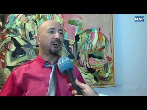 شاهد معرض جماعي بوجدة لفنانين مغاربة مقيمين في الخارج