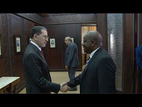 رئيس الحكومة المغربي يجري محادثات مع رئيس الجمعية الوطنية لتنزانيا