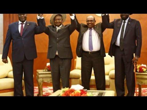 أطراف النزاع  في جنوب السودان تستعد لتوقيع اتفاق لتقاسم السلطة