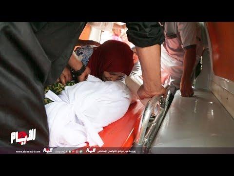 شاهدانهيار والدة الطفل الذي دهسه طبيب داخل مستشفى الهاروشي