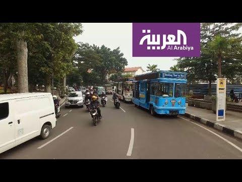شاهد رحلة إلى جافا الإندونيسية أرض البراكين
