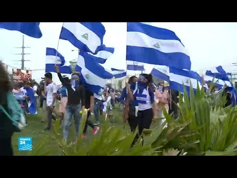 شاهد طالبة في نيكاراغوا ترتدي القناع لثلاثة أشهر خوفًا من تهديدات أورتيغا