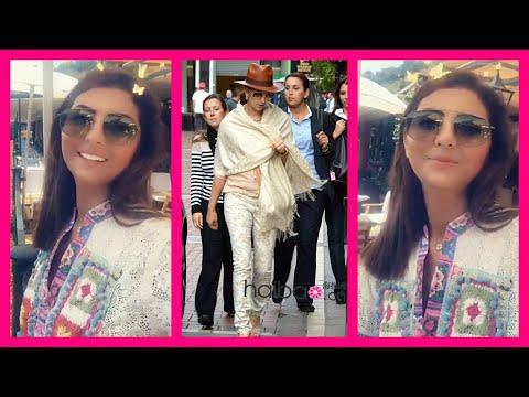 شاهد  الإعلامية المغربية مريم سعيد تلتقي الأميرة لالة سلمى