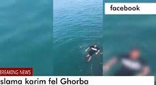 شاهد وصول 9 مغاربة إلى ميناء سبتة سباحة