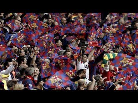 شاهدمشجعو برشلونة يرفضون طلبات البوليساريو