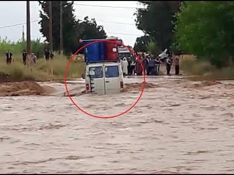 شاهدعاصفة رعدية غير مسبوقة تضرب إقليم ميدلت