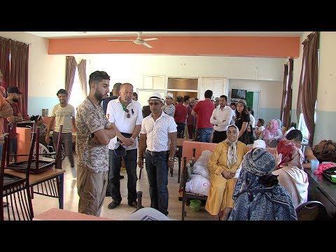 فنانون يجرون زيارة لدار المسنين في عين عتيق