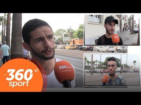 شاهد  توقعات الجماهير المغربية لمباريات الأندية المغربية