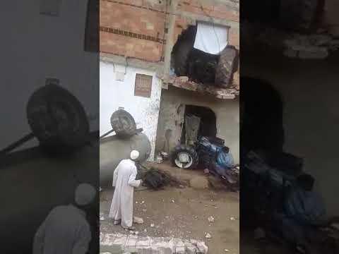 شاهد حادثة سير غريبة بضواحي مكناس في المغرب