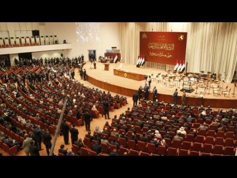 شاهد انتخاب محافظ الأنبار السابق محمد الحلبوسي رئيسا للبرلمان والكعبي نائبًا أول