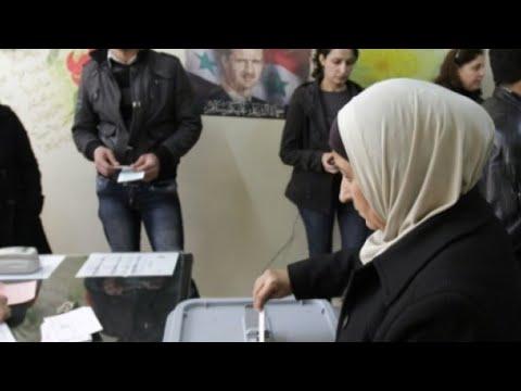 شاهد أول انتخابات لمجالس الإدارة المحلية في سورية منذ عام 2011