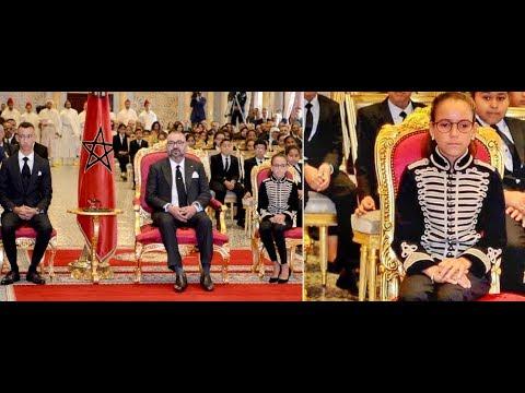شاهدرد فعل المغاربة بعد ظهور الملك رفقة الأميرة لالة خديجة