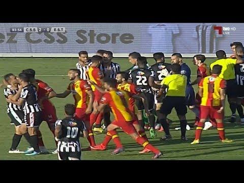 شاهد مُلخّص مباراة الصفاقسي والترجي في الدوري التونسي