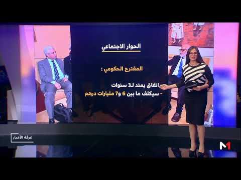 شاهد الحوار الاجتماعي بين طرح النقابات ورؤية الحكومة المغربية