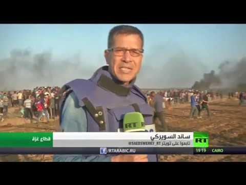 سقوط 6 قتلى فلسطينيين ونحو مائتي مصابًا خلال مسيرات العودة في غزَّة