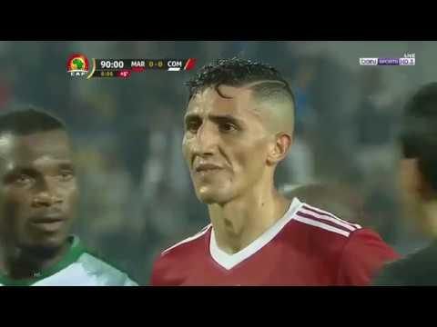 فيصل فجر يسجل هدف قاتل للمنتخب المغربي في الدقيقة 95