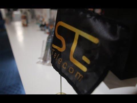 شاهد مراسيم توقيع اتفاقية شراكة وإشهار مع stg telecom